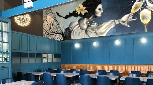 Neil Wang - Murals and Art