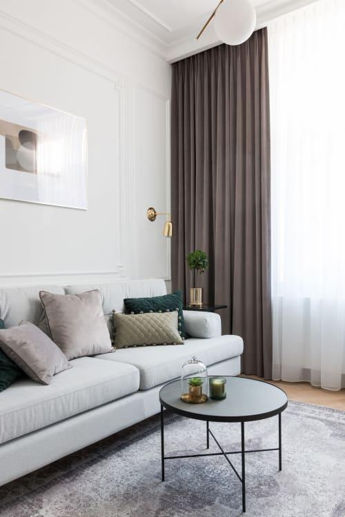 Interior Design by PIM concept seen at Private Residence, Kraków - Secret Garden - Studio Apartment