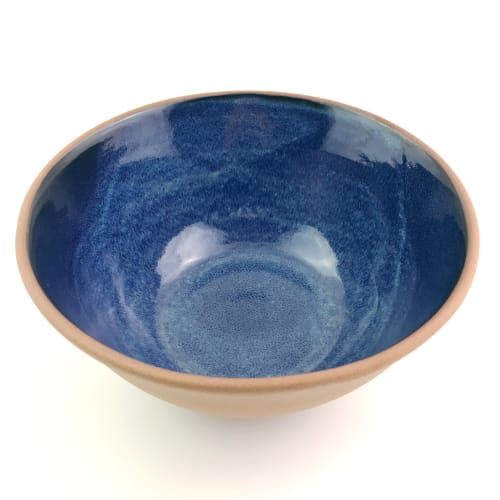 Stoneware Large Serving Bowls | Tableware by Tina Fossella Pottery