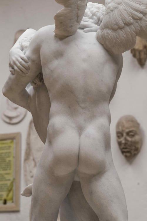 Sculptures by Cicero D'Ávila seen at Denver, Denver - Eros n Bonnie