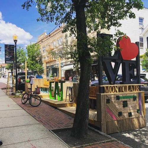 Public Art by SK Design/Build seen at Montclair, Montclair - Montclair NJ Parklet
