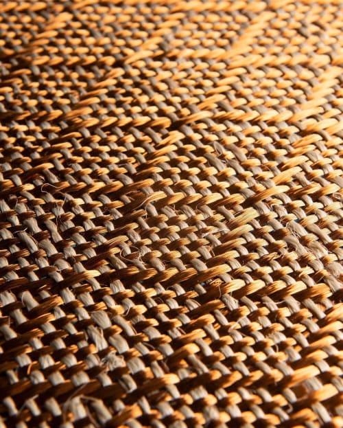 Rugs by VERDI seen at Hotel Amarla, Cartagena - Copper & Fique Rug