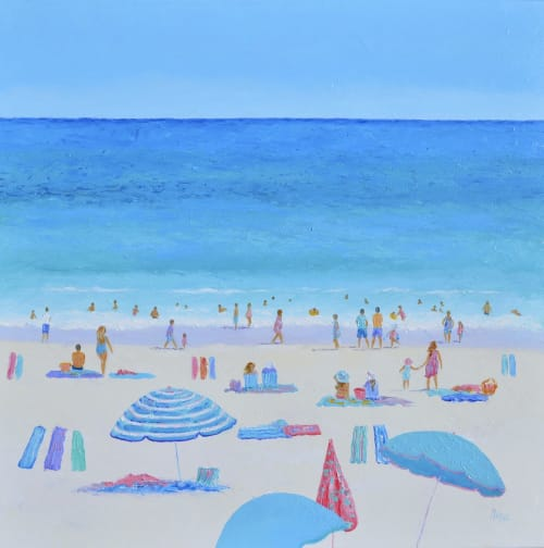 Paintings by Jan Matson seen at Private Residence, Canberra - The Delights of Summer