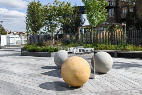 Public Sculptures by Fine Art Works Ltd - James Hopkins seen at London, London - Ecliptical Spheres