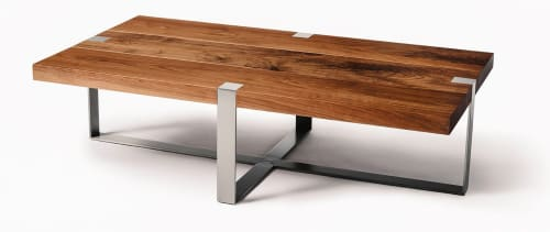 Where Wood Meets Steel - Tables and Furniture