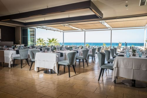 Chairs by Anesis, Comfortable Designs seen at Atlantica Kalliston Resort and Spa, Chania - Nastia Chair