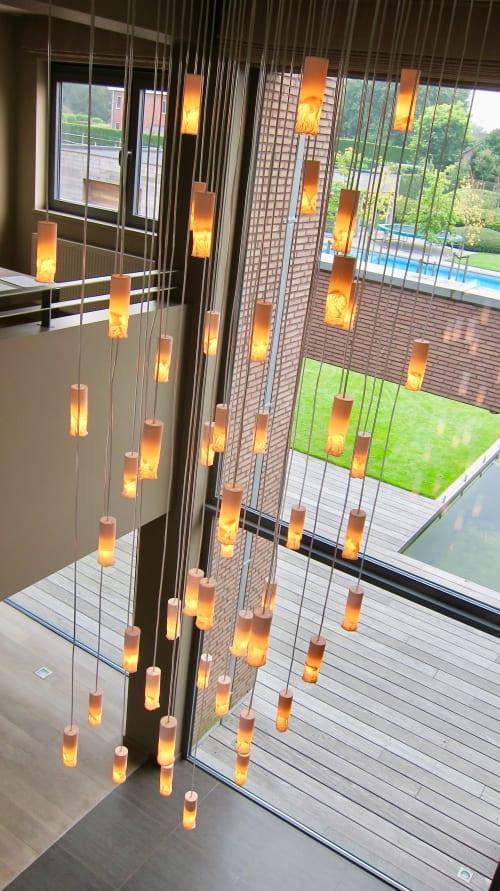 Lighting Design by Coup-de-foudre by Arickx-Vermandere seen at Private Residence - Les enfants du soleil