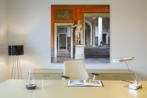Photography by Reinhard Görner at Berlin - View from Garden Room to Corner Room