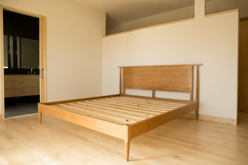 Beds & Accessories by Evan Berding Custom Furniture + Woodwork seen at Private Residence, Durham - Alison Bed