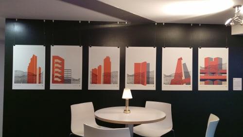 Interior Design by Hamish Macaulay seen at Grey, London - Brutal Icon Series