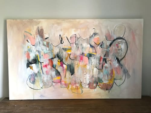 Paintings by Amy Stone seen at Private Residence, Seattle - So Many Versions of Self
