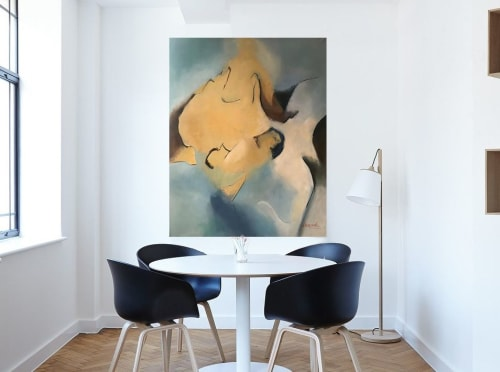 Paintings by Cecilia Arrospide seen at Private Residence, Lima - SERENDIPITY