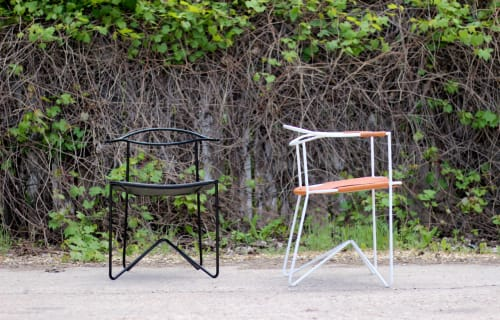 Chairs by Roan Barrion seen at 84 1/2, Winnipeg - The 88 Chair