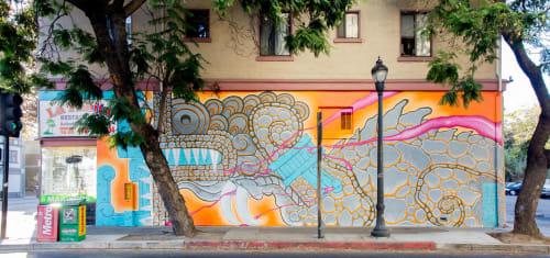 Street Murals by Drew Flores seen at San Jose, San Jose - Mural