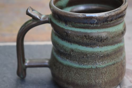 Cups by HaileyRoseCeramics seen at Private Residence, Santa Clarita - Handmade Ceramic Mug