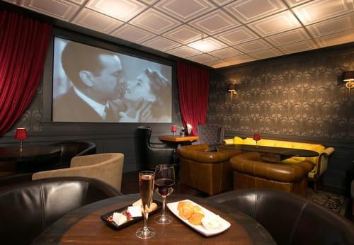 Noir Lounge, Restaurants, Interior Design