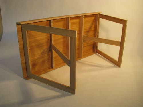 Tables by Joe Mellows Furniture Makers seen at West Sussex - Fold