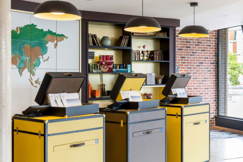 Interior Design by FRON MARTIN Studio seen at Aiden by Best Western T'Aim Hôtel, Margny-lès-Compiègne - T'aim Hotel
