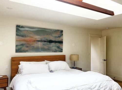 "Paintings by Jessica Dunegan seen at Private Residence, Healdsburg - ""The Great Chain of Being"""