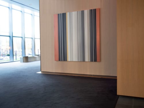 Paintings by Matthew Langley seen at Conrad Washington DC, Washington - Commissioned Painting