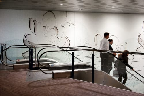 Wallpaper by Muurbloem design studio seen at Rotterdam, Rotterdam - Muurbloem Wallfashion Senses