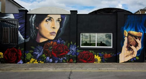 Jonny McKerr (JMK Art) - Murals and Street Murals
