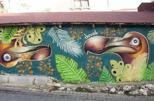 Aybars Yücel - Murals and Art