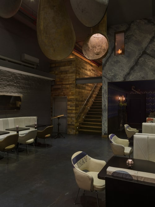 Interior Design by Studio Robert Jamieson seen at The Ship, New York - The Ship