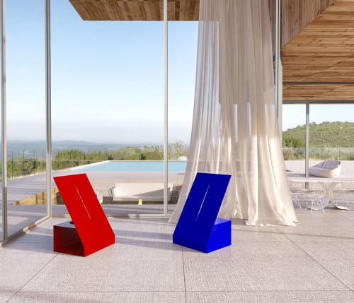 Chairs by Mavimatt seen at Private Residence, Miami Beach - OPERA Chair