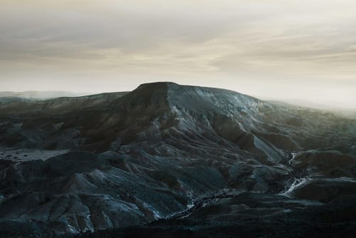 Photography by Alice Zilberberg seen at Toronto, Toronto - Transparent Sky over Large Mountain in My Homeland