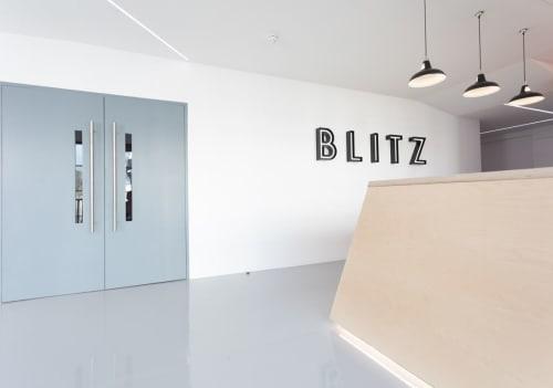 Lighting Design by Lighting Design Studio seen at Blitz CrossFit - Twickenham Gym, Twickenham - Blitz