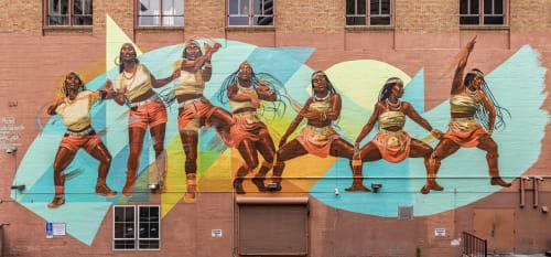 Rachel Wolfe-Goldsmith - Street Murals and Murals
