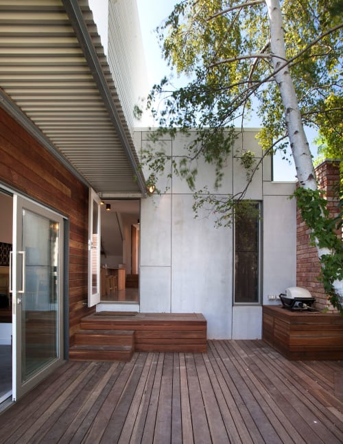 Architecture by Breathe Architecture seen at Private Residence, Northcote - Jack & Jill House