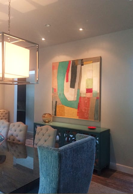 Paintings by Mary Long seen at Private Residence, Santa Fe - Arc