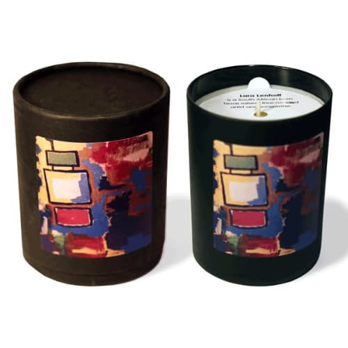 Apparel & Accessories by Lara Lenhoff Art seen at Nashville, TN, Nashville - Artsy Monkey Candles