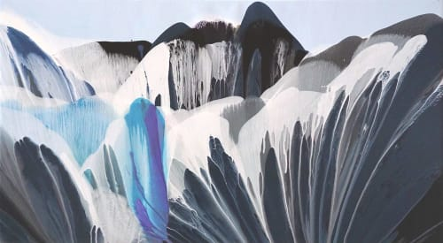 Murals by Terry Kruse seen at Private Residence, Calgary, Calgary - Quarencia