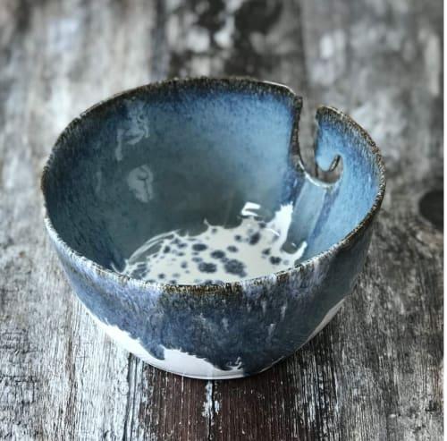 Tableware by Rosie Hay Ceramics seen at Private Residence, Edinburgh - Yarn Bowl