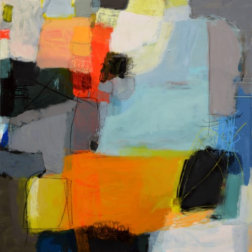Paintings by Terri Froelich Fine Art at Private Residence, Sausalito - Forbidden
