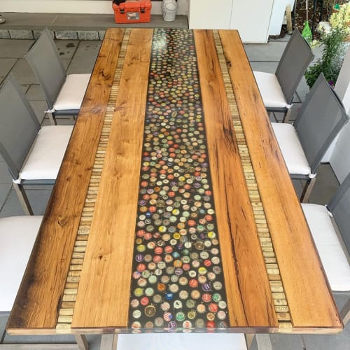 Tables by Lighthouse Woodworks seen at Private Residence, Barnstable - Outdoor Table
