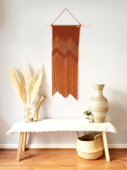 Macrame Wall Hanging by YaShi Handmade seen at Private Residence, Milpitas - The Mountains