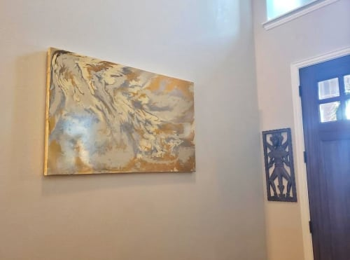 Paintings by Soulscape Art seen at Private Residence, Dallas - Celestine
