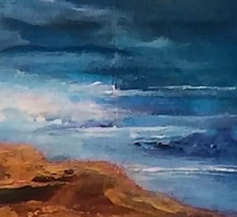 Paintings by Linda Lindus seen at Private Residence, Phoenix, Phoenix - Horizon 2