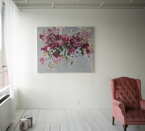 Paintings by Ashley Joon seen at Private Residence, Denver - Vicki