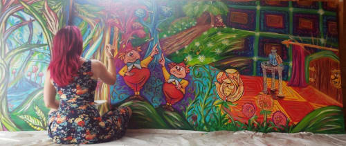Earth & Ether Art - Murals and Paintings