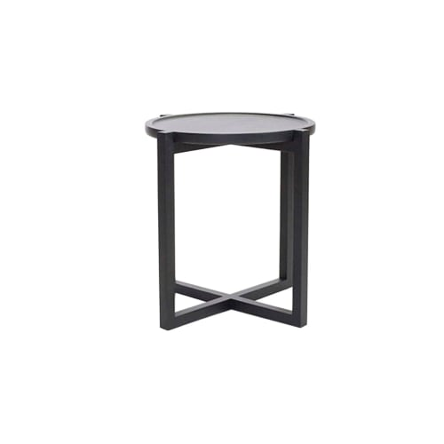 Tables by Labrica seen at Private Residence, Miami - Boton Three Side Table in Solid Wood
