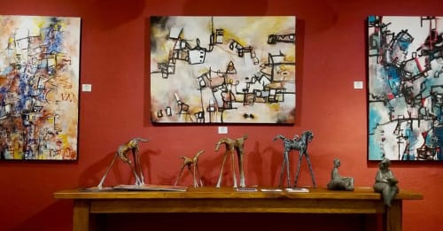 Laurie DeVault Fine Art - Paintings and Cups
