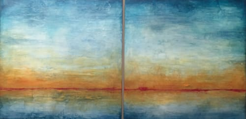 Passing Through | Paintings by Linda Cordner | Harvest in Cambridge