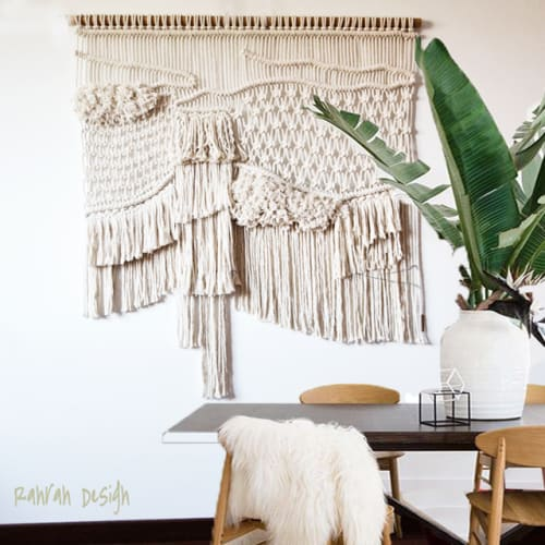 Macrame Wall Hanging by Ranran Design by Belen Senra seen at Byron Bay Australia, Byron Bay - Natural Wall Art