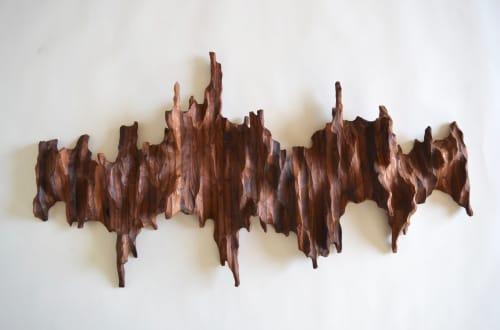 New Adventure Wall Sculpture | Sculptures by Lutz Hornischer - Sculptures & Wood Art