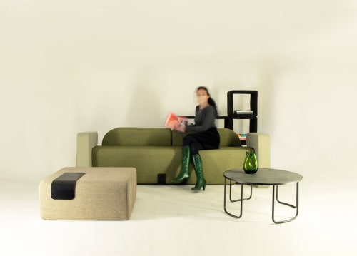 Couches & Sofas by Marine Peyre seen at Private Residence, Paris - BFLEX SPECIAL